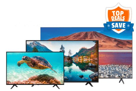 Top Deals Televisions Thumbnail